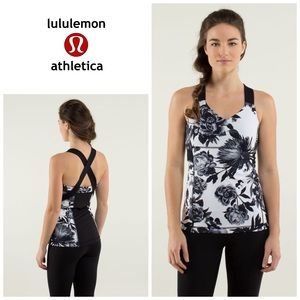 Lululemon Push Ur Limits Brisk Bloom tank